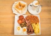 The full breakfast,