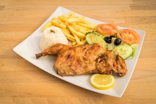 Sexta e fim de semana frango assado